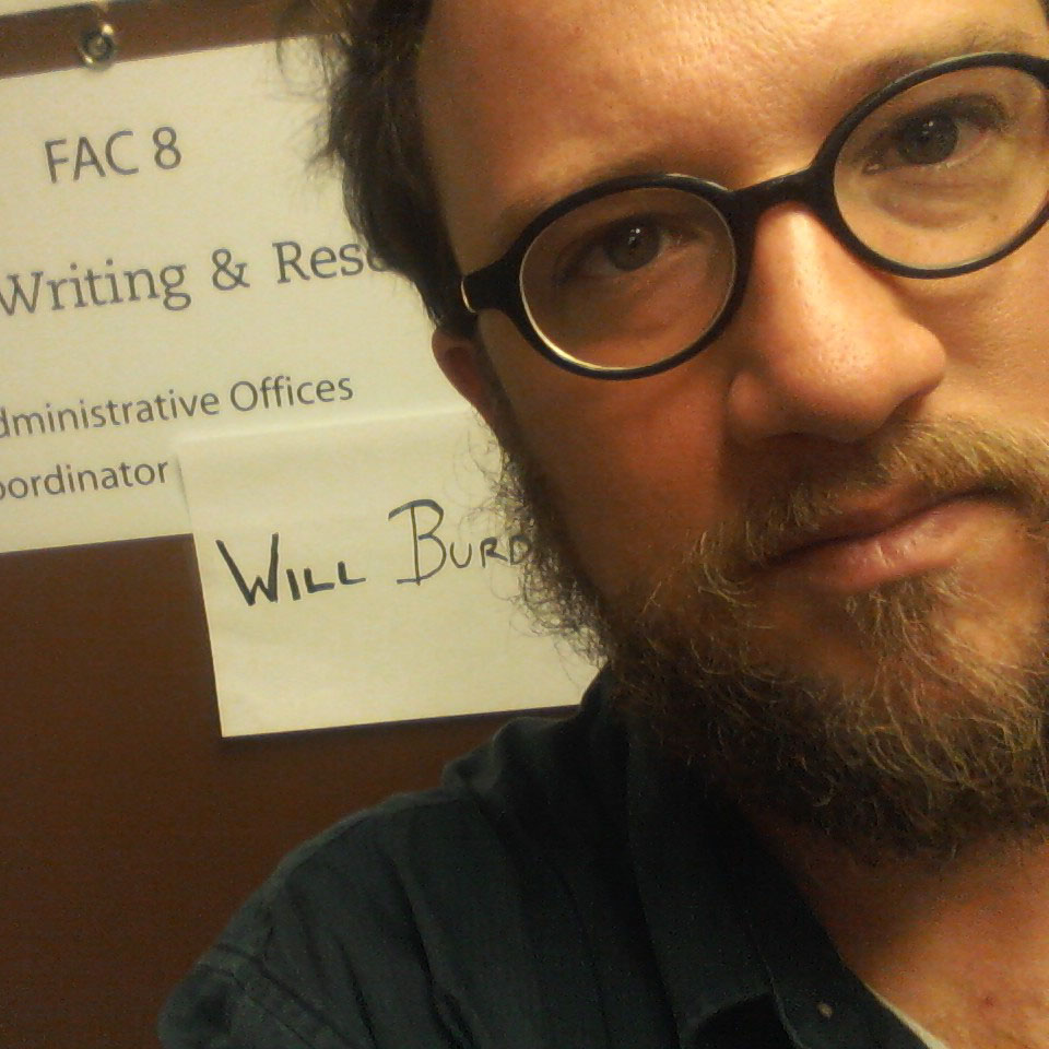 Headshot of Will Burdette