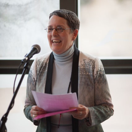 Photograph of form Director Peg Syverson