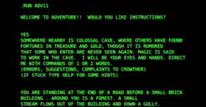 colossal cave adventure intro