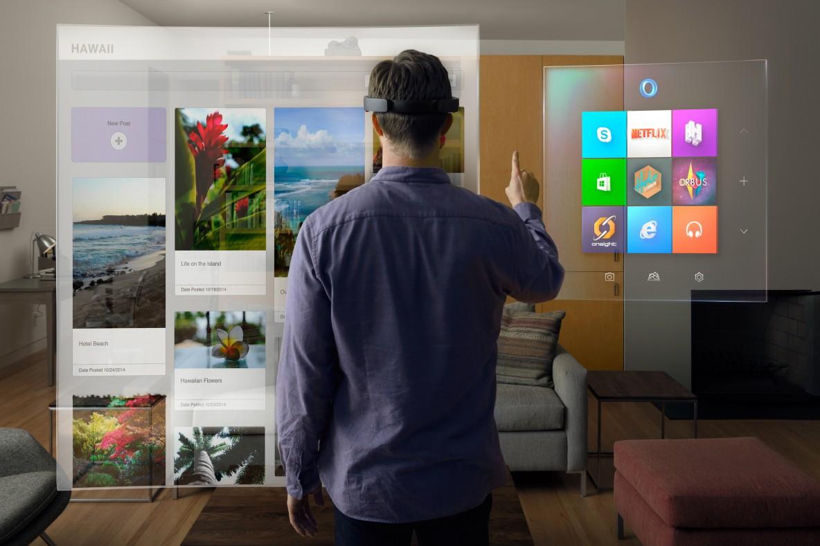 """win10_HoloLens_livingRoom"" by Microsoft Sweden"