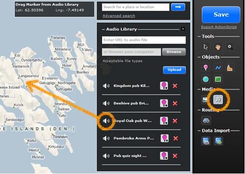 Screenshot from UMapper