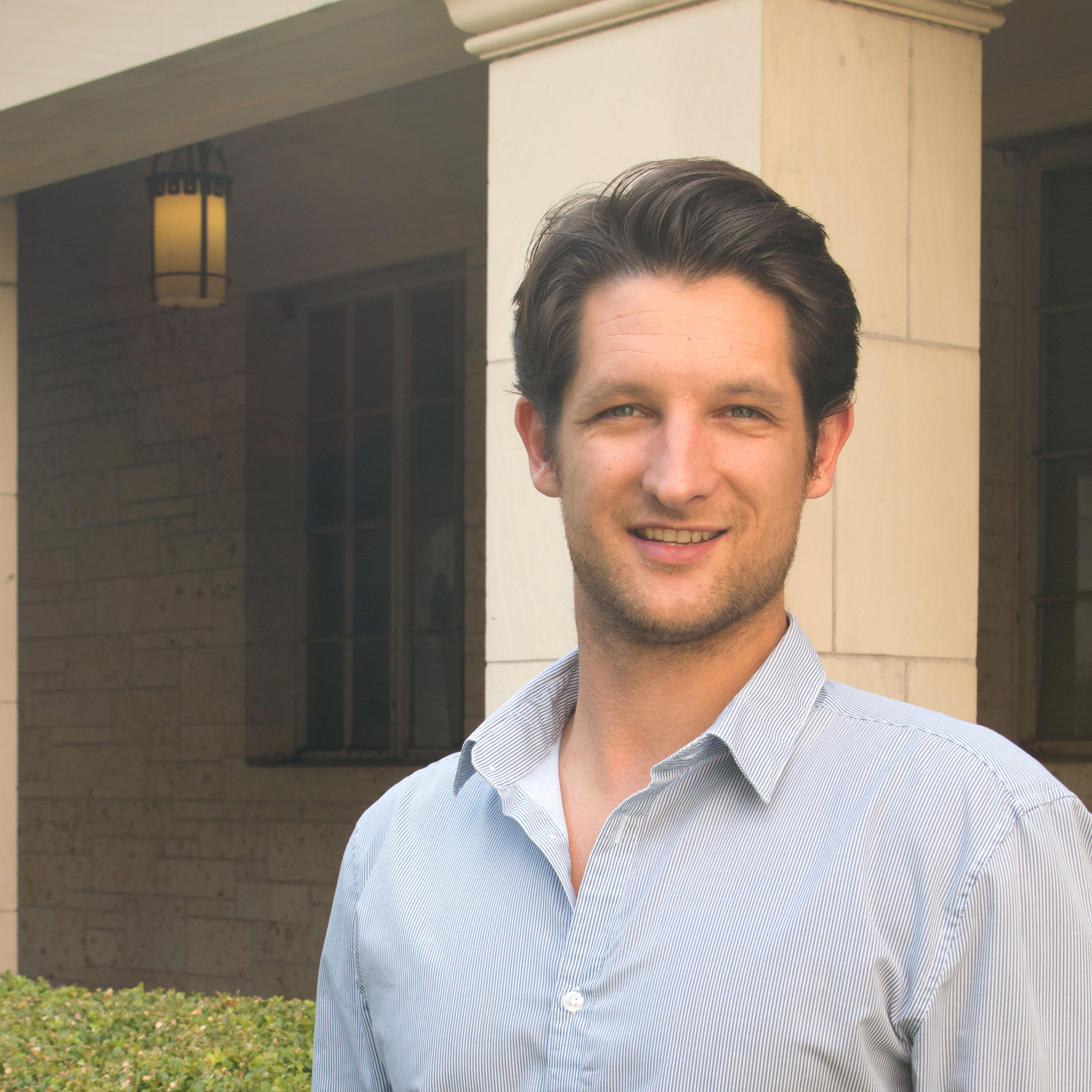 Headshot of DWRL staff member Reinhard Mueller