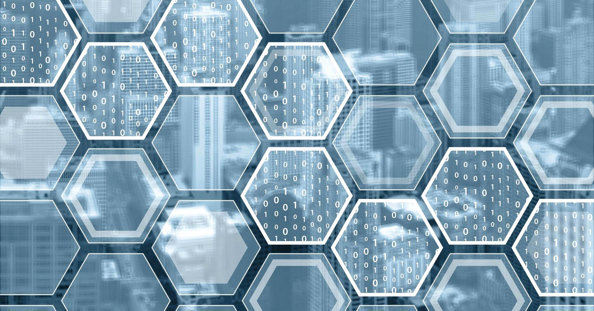 Image of digital honeycomb
