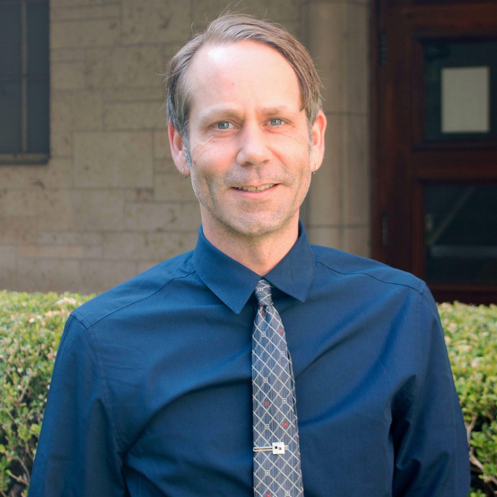Headshot of Matt Breece