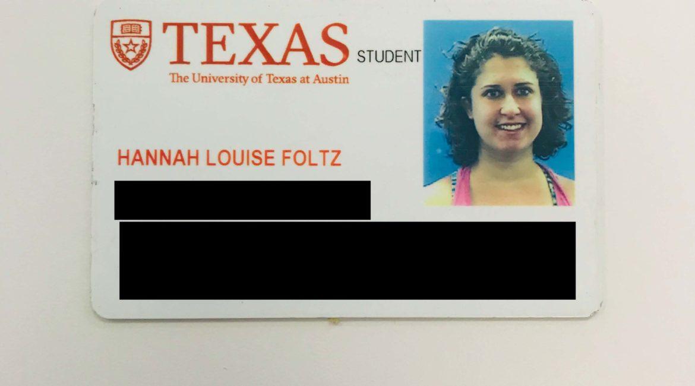 Redacted ID card